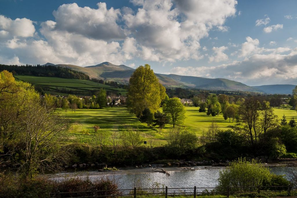 Brecon River and Beacons