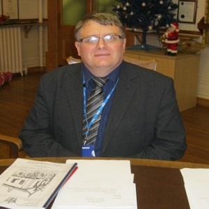 Chris, a Brecon Councillor