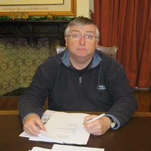 M Weale, a Brecon Councillor