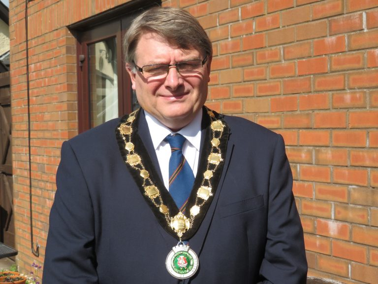 Councillor Walsh of Brecon Town Council