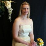 A bride married at Brecon