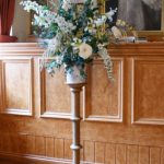 A beautiful flower stand used for weeding in the Guildhall